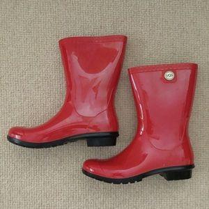 UGG Siena Rain Boot, Red